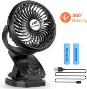 Clip-on mosquito fan